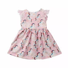 Load image into Gallery viewer, Pink Unicorn Dress - Mom and Bebe Ph