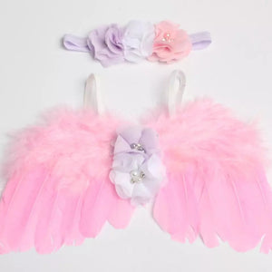 Pink Angel Wings & Headband - Mom and Bebe Ph