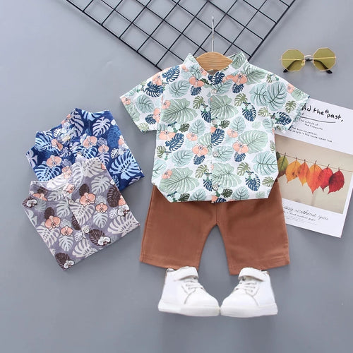 Top & Bottom Pants Set - Mom and Bebe Ph