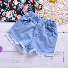 Load image into Gallery viewer, Floral Top Summer Shorts - Mom and Bebe Ph