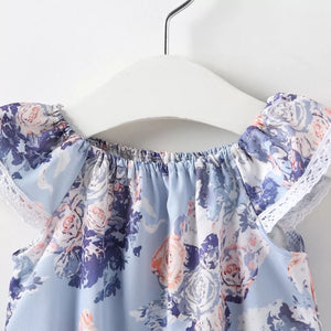 Purple Floral Romper - Mom and Bebe Ph