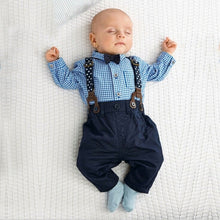 Load image into Gallery viewer, Polo Shirt, Pants, Suspender - Mom and Bebe Ph