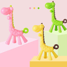 Load image into Gallery viewer, Giraffe Silicon Teether