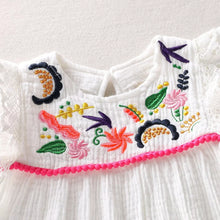 Load image into Gallery viewer, White Embroidered Dress - Mom and Bebe Ph