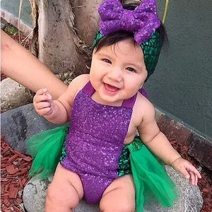 Mermaid Jumpsuit Dress Headband - Mom and Bebe Ph