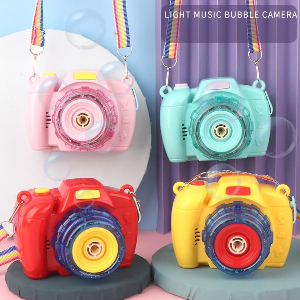 Camera Bubble Toy