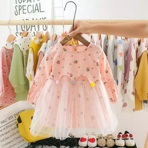 Persephone Baby Dress Pink - Mom and Bebe Ph