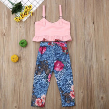 Load image into Gallery viewer, Crop Top & Pants - Mom and Bebe Ph
