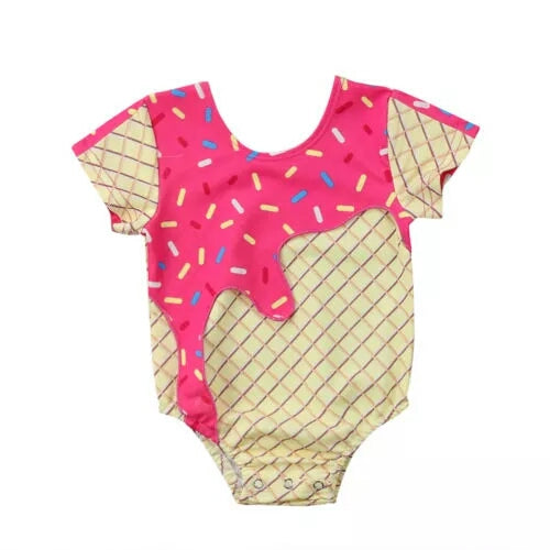 Ice Cream Baby Swim Wear