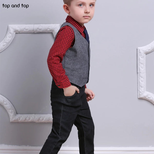 Top&Top Formal Gentleman Suit - Mom and Bebe Ph