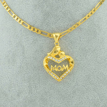 Load image into Gallery viewer, Mom necklace Gold Plated - Mom and Bebe Ph