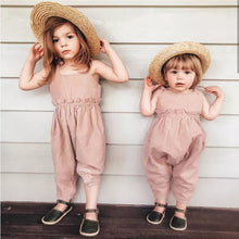 Load image into Gallery viewer, Pink Onepiece Romper - Mom and Bebe Ph