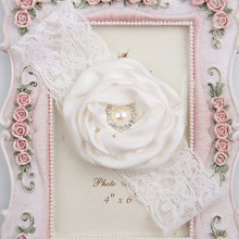 Load image into Gallery viewer, Flower Lace Pearl Headband - Mom and Bebe Ph