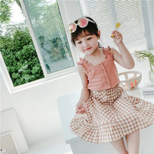Load image into Gallery viewer, Top & Plaid Skirt - Mom and Bebe Ph