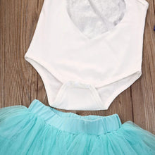 Load image into Gallery viewer, 3pc set Tutu Onesie Headband