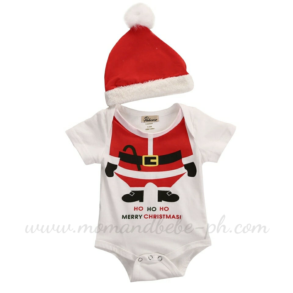 Xmas Onesie & Santa Hat - Mom and Bebe Ph