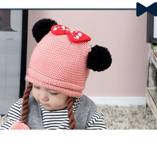 Load image into Gallery viewer, Knitted Hat w/ Braids - Mom and Bebe Ph