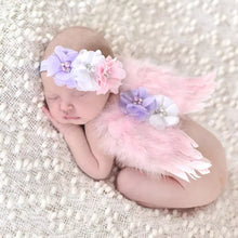 Load image into Gallery viewer, Pink Angel Wings & Headband - Mom and Bebe Ph