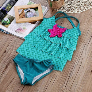 Mermaid 2pc Swimsuit - Mom and Bebe Ph