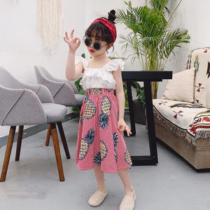 Pineapple Set Top & Skirt (P) - Mom and Bebe Ph