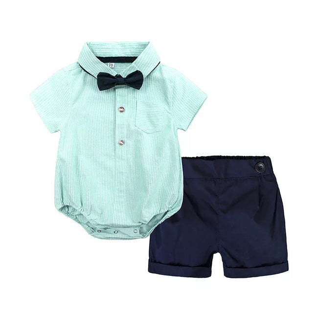 Formal Boy Romper & Pants