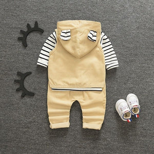 3pcs/Set Boys Outfit 1-4yo - Mom and Bebe Ph