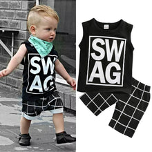 Load image into Gallery viewer, Top & Shorts Boy Clothes - Mom and Bebe Ph