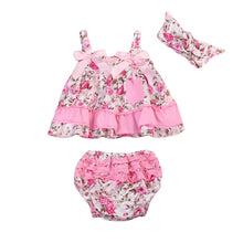 Load image into Gallery viewer, Floral Dress Pants Headband - Mom and Bebe Ph