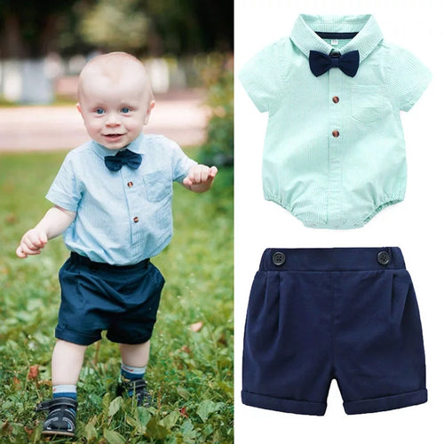Formal Boy Romper & Pants - Mom and Bebe Ph