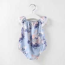 Load image into Gallery viewer, Purple Floral Romper - Mom and Bebe Ph
