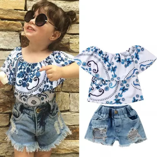 Candice Top and Shorts Set - Mom and Bebe Ph