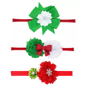 Green White Red Set Headbands - Mom and Bebe Ph
