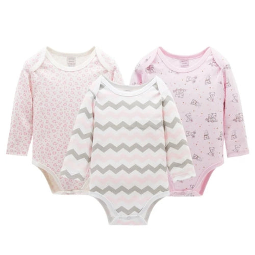 3pcs Set Bodysuit - Mom and Bebe Ph