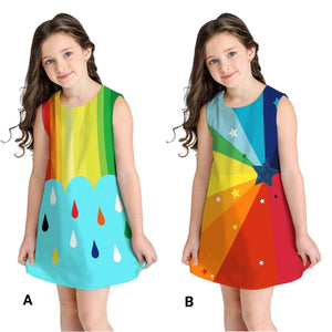 Rainbow Girls Dress - Mom and Bebe Ph