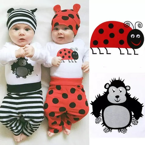 Baby Clothing Set 3pcs - Mom and Bebe Ph