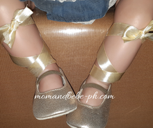 Load image into Gallery viewer, Ballerina Lace Up Shoes + Crown - Mom and Bebe Ph