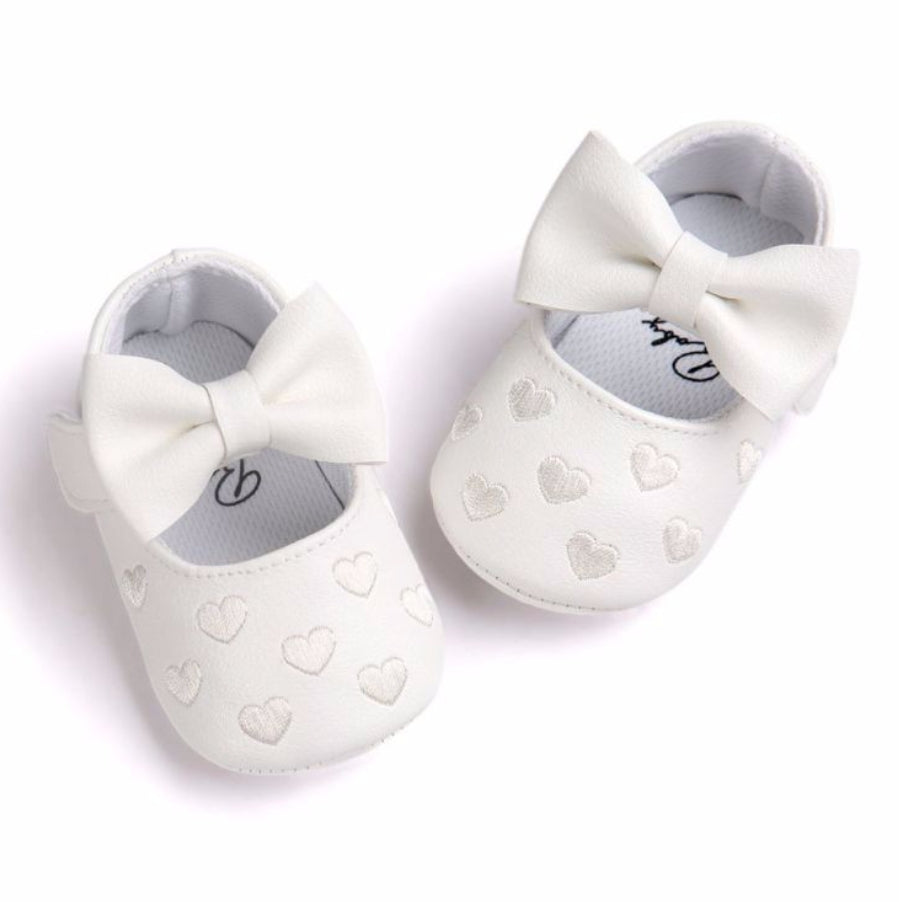 White Baby Girls Shoes - Mom and Bebe Ph