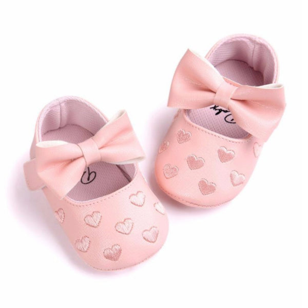Pink Baby Girls Shoes - Mom and Bebe Ph