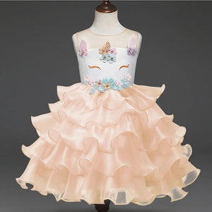 Unicorn Ruffles Dress - Mom and Bebe Ph