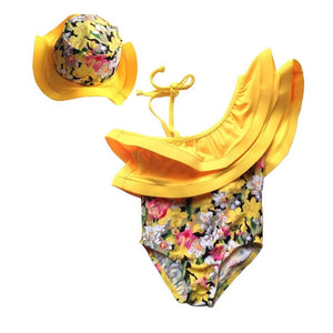 Floral Kids Swimsuit - Mom and Bebe Ph