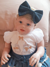 Load image into Gallery viewer, Big Bow Denim Headband - Mom and Bebe Ph