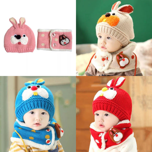 Cute Bonnet & Scarf Set - Mom and Bebe Ph
