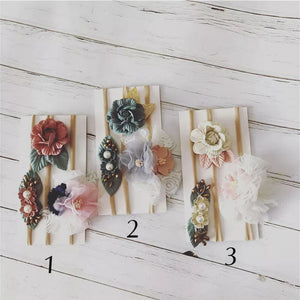 Set Flower Headbands - Mom and Bebe Ph