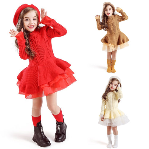 Knitted Dress 3-8y - Mom and Bebe Ph