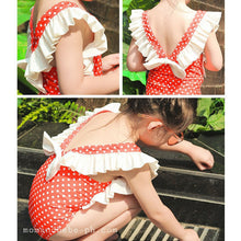 Load image into Gallery viewer, Red Polkadot Swimsuit - Mom and Bebe Ph
