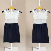 Load image into Gallery viewer, White Top + Skirt