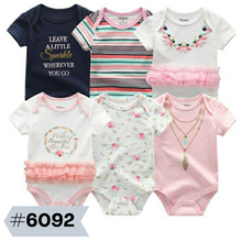 Load image into Gallery viewer, 6pcs Baby Bodysuits