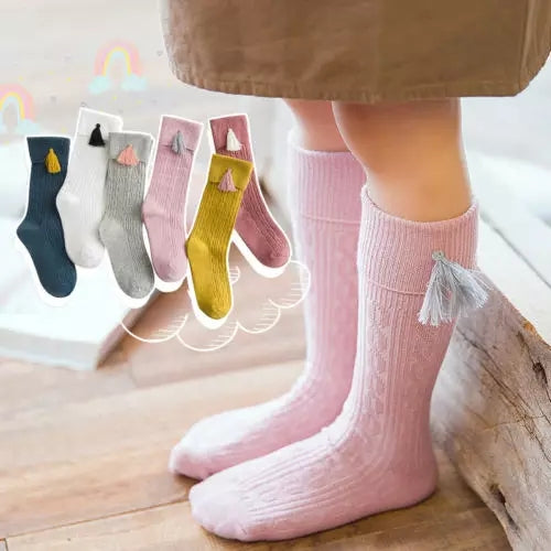 Kids High Socks - Mom and Bebe Ph