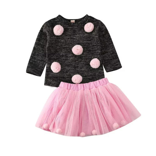 Sweater & Tutu Skirt