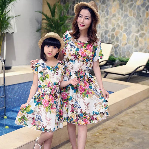 Mom & Daughter Dress Set - Mom and Bebe Ph